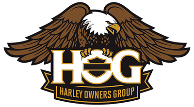 HOG Logo with Bald Eagle